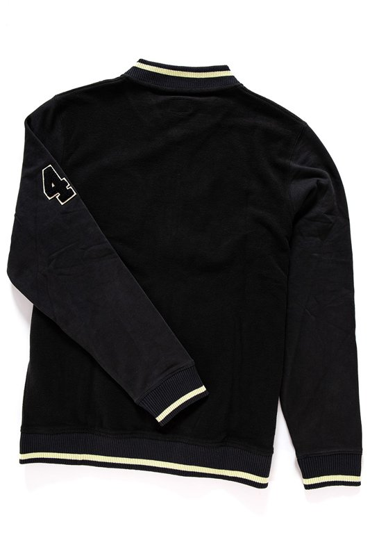 WRANGLER RETRO BOMBER SWEAT BLACK W6545I501