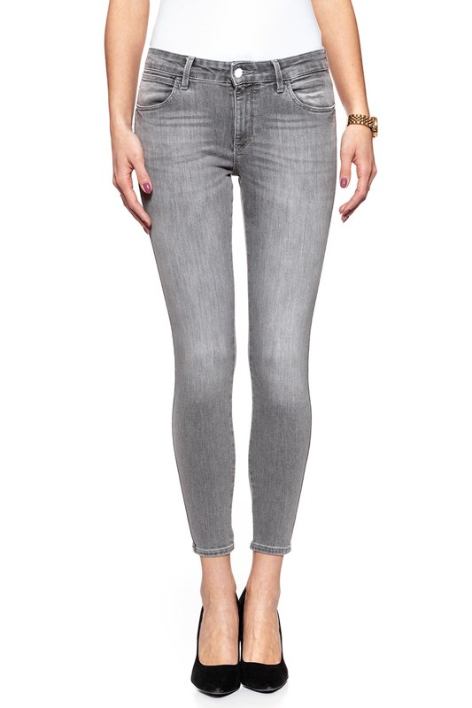 WRANGLER SKINNY CROP AUTHENTIC GREY W28MQG12U