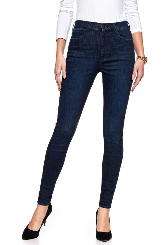 WRANGLER SUPER HIGH SKINNY TAINTED BLUE W27WSZ21H