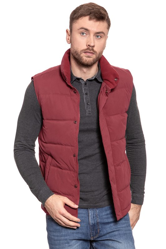 WRANGLER THE BODY WARMER RUSSET BROWN W4602WGMA