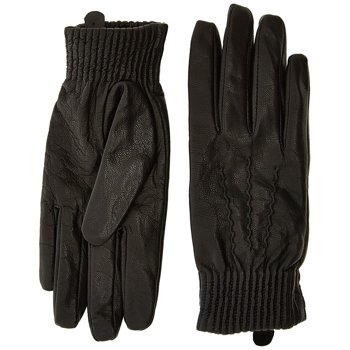 LEE LEATHER GLOVES BLACK LD135901      $