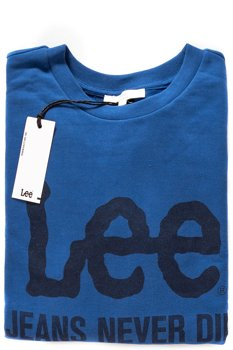 LEE LOGO CREW SWS BEYOND BLUE L53GJSKT