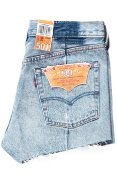 LEVI'S 501 Altered Zip Shorts 523850000