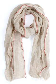 WRANGLER SOLID SCARF PEBBLE SAND W0S16UV2A