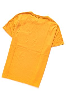 WRANGLER SS POCKET TEE MINERAL YELLOW W7A7FKY02